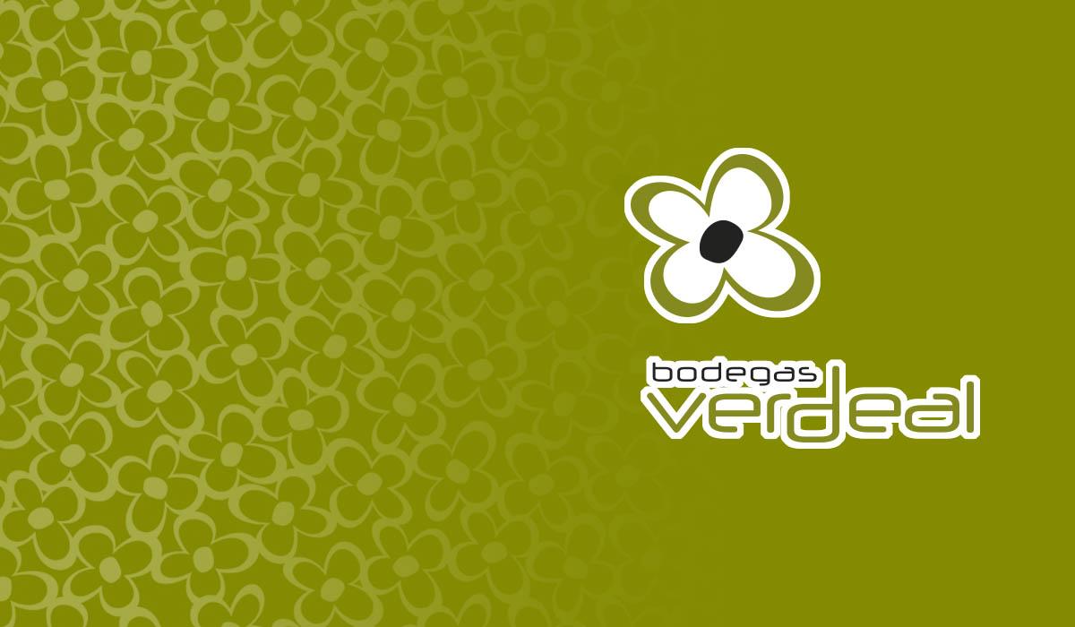 Dimagen - imagen de marca logotipo Bodegas Verdeal Diseño Asturias España Graphic Design